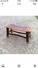 Reclaimed Wine Barrel Stave Bench