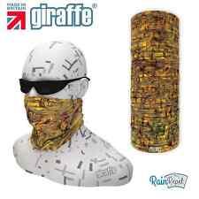 G544 Abstract Sand Multifunctional Headwear Snood Bandana Headband Ski cycle run