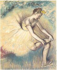 Degas - Danseuse attach Ed. 300 uds Firma impresa. Num. a lapiz. Certif. Edicion