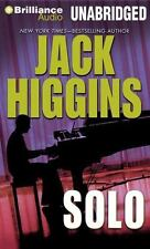 Solo by Jack Higgins (2014, CD, Unabridged)