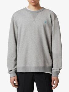 All Saints Mens Crew Neck Designer Phoenix Overhead Sweatshirt Sweater Jumper