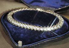 3.00CT STERLING SILVER 925S WOMENS TENNIS DIAMOND BRACELET IN 7.5 INCH