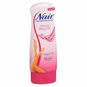 Nair Hair Remover Lotion With Baby Oil 9 oz  by Nair