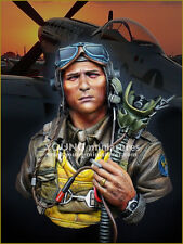 Young min usaaf fighter pilot 1944 WW2 YM1856 1/10 non peinte kit de buste