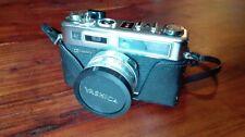 CAMARA FOTOGRAFICA YASHICA ELECTRO 35 + OBJETIVOS