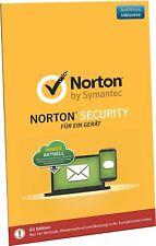 Norton Security 2018 Standard - 1 Gerät / PC 1 Jahr