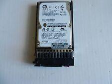 """HP 300GB 6G DP 10K 2.5"""" HDD SAS Model EG0300FBDBR 597609-001  w/Caddy 507284-001"""