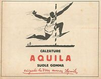 Z0899 Calzature AQUILA - Pubblicità del 1929 - Advertising