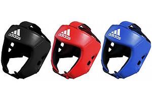 Adidas AIBA Style Boxing Head Guard Open Face Sparring Headguard Boxing Headgear