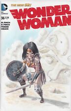 DC Comics Wonder Woman #36 Blank variant original warrior art by Juan Mendez