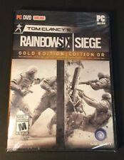 Tom Clancy's Rainbow Six Siege [ GOLD Edition ] (PC / DVD-ROM) NEW