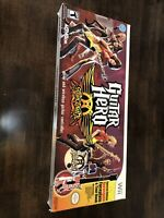 NEW Guitar Hero Aerosmith Box Bundle Nintendo Wii Sealed no game or book mint