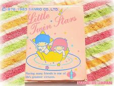 🌟SANRIO Little Twin Stars VINTAGE Japan 1983 portatessere Card Holder Pass Case