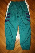 Vtg Adidas Trefoil Pants Windsuit Men L Running Track Athletic Nylon