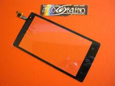 VETRO + TOUCH SCREEN per ACER LIQUID Z5 Z150 LCD DISPLAY VETRINO NERO BLACK