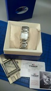 Ladies Tissot, T-Trend T-Evocation, Mother of Pearls, Diamonds - working + box