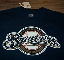 MILWAUKEE BREWERS #20 Johnathan Lucroy MLB Baseball T-Shirt MEDIUM NEW w/ TAG