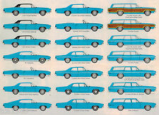 1968 Ford LTD/XL/GALAXIE/CUSTOM 500/COUNTRY SQUIRE/RANCH Wagon/GT 428 Brochure