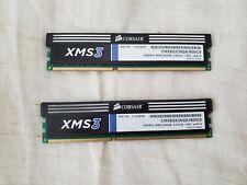 USED Corsair XMS3 PC3-12800 (DDR3-1600) 8gb (4gb x 2) Memory CMX8GX3M2A1600C9