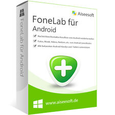 FoneLab Android Aiseesoft dt.Vollver. lebenslange Lizenz  Download nur 15,99 !