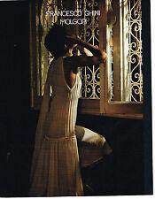 PUBLICITE ADVERTISING 094  1985   FRANCESCO GHINI    haute couture