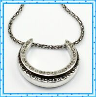 Brighton Stardust Crystal Silver Pendant Necklace