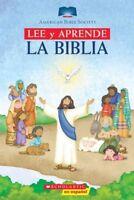 Lee Y Aprende La Biblia/ Read and Learn Bible, Hardcover by Scholastic Inc., ...