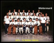 NHL 1971 - 72 Buffalo Sabres Color Team Photo Pic 8 X 10 Photo Picture