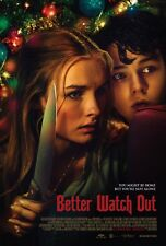 Better Watch Out movie poster - Levi Miller, Christmas Horror - 11 x 17 inches
