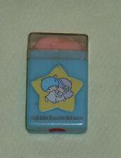 vintage Sanrio LITTLE TWIN STARS ERASER in case