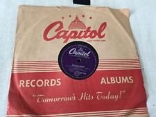Rock 78 RPM Vinyl Records