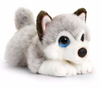 CUDDLE PUPPIES HUSKY PLUSH SOFT TOY DOG 25CM STUFFED ANIMAL BY KEEL TOYS