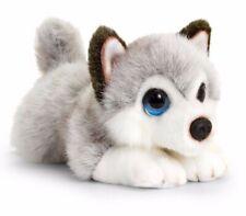 CUDDLE PUPPIES HUSKY PLUSH SOFT TOY DOG 25CM STUFFED ANIMAL BY KEEL TOYS