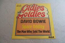 DAVID BOWIE SPACE ODITY 45 GERMAN 1976