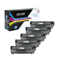 USA Advantage Compatible Toner Cartridge for HP 12A (Q2612A) (Black,5 Pack)