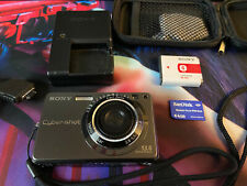 Sony Cyber-shot DSC-W300 13.6MP Digital Camera - Black