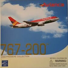 Boeing 767-200 Avianca Columbia - 1 400 Scale by Dragon Wings