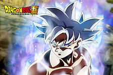 Dragon Ball Super Poster Half Body Goku Ultra Mastered 12in x 18in Free Shipping