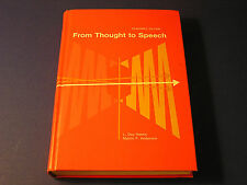 From Thought to Speech by L. Day Hanks Teacher's Edition Vocal Mechanism