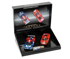 Scalextric C3893A Legends Le Mans 50 Years of Ford MKIV GT 2 Cars 1/32 Slot Car