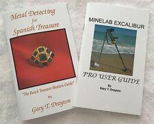 MINELAB EXCALIBUR BOOK AND SPANISH TREASURE HUNTING BOOK