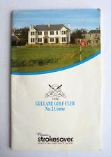 New listing Gullane Golf Course No 2 Course Guide Memorabilia