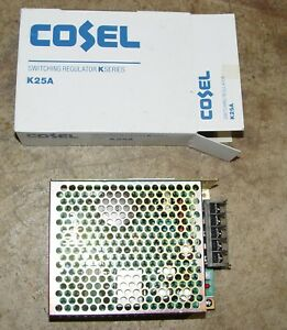 NEW COSEL power supply - 5V, 5 AMP, 39 Watts - K25AU-5  (K25A)