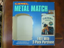 MAX Camel Metal Match Lighter  CAMEL Joe's CASH vol.5 & Smokin' stuff Catalog