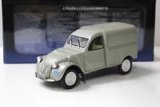 1:18 Norev Citroen 2CV Fourgonette grey
