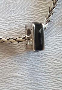Brighton Squared Black Swarovski spacer bead J96313 new B459