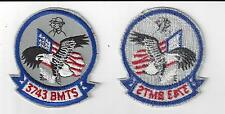 U.S. AIR FORCE PATCH - VINTAGE 3743rd BASIC MILITARY TRAINING SQUADRON