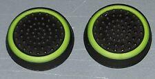 USA 2x BLACK/GREEN Thumbstick Grips XboxOne/360 PS4/3/2 Nintendo Wii/U/ Switch