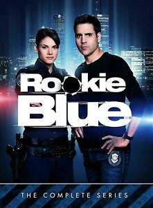 Rookie Blue The Complete Collection Series DVD Box Set 22 Discs Police Drama NEW