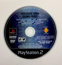 Holiday 2004 Demo PlayStation 2 PS2 Disc Only Star Wars Battlefront Metal Gear